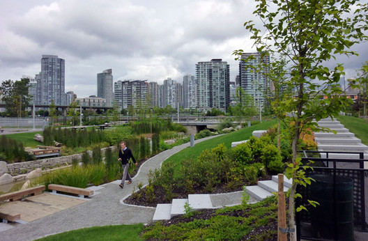 Stormwater management in Vancouver. Image Courtesy of Arup Connect