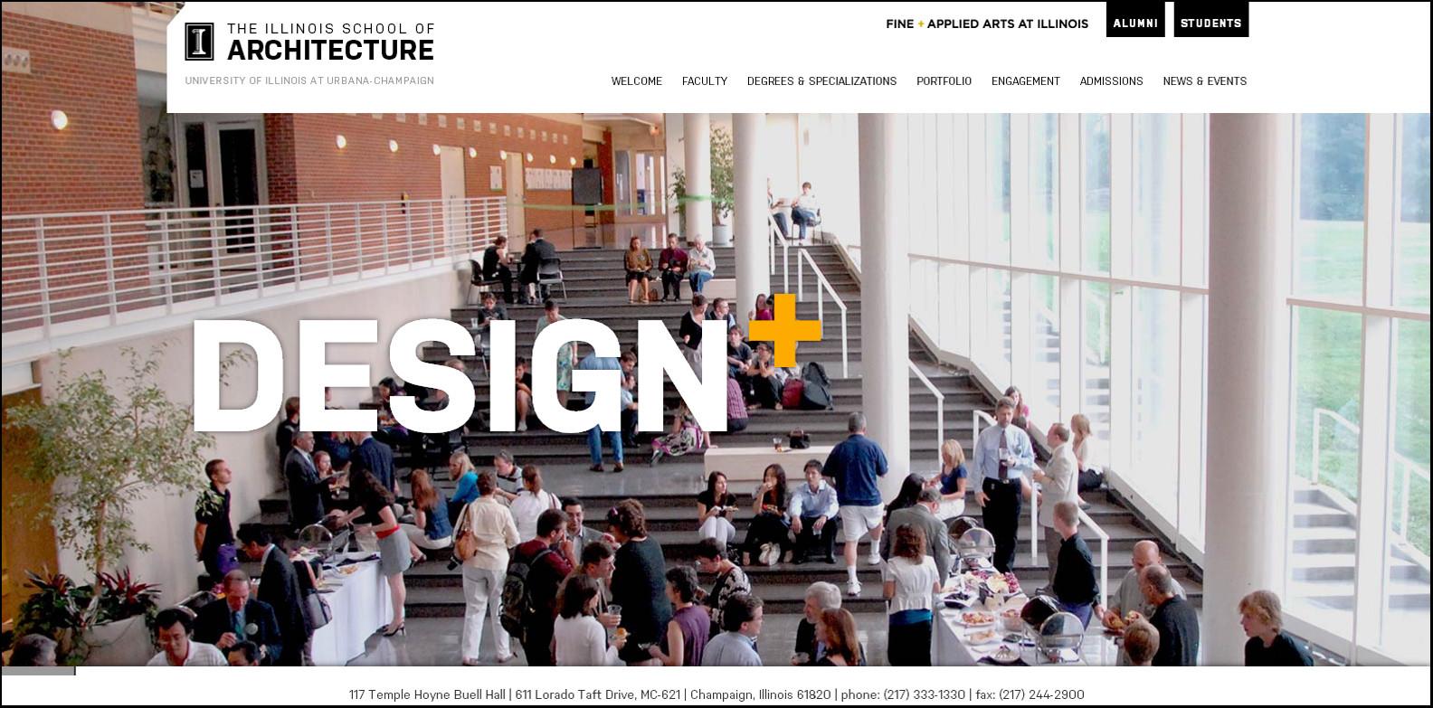The Illinois School of Architecture Announces New Website