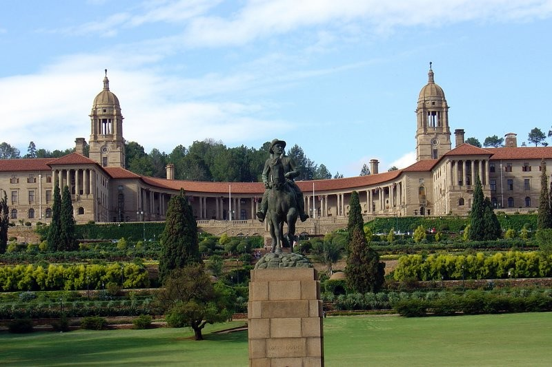 The Union Building in Pretoria, South Africa.. Image Courtesy of Wikimedia Commons User Davinci77