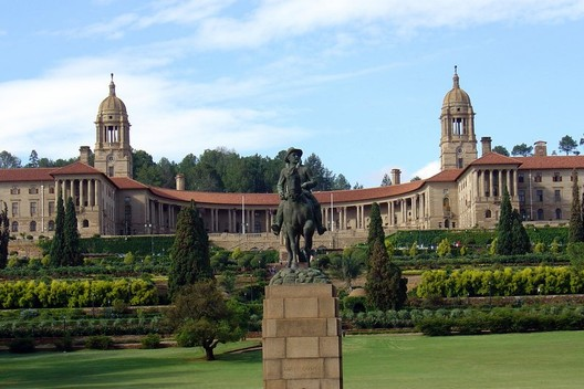The Union Building in Pretoria, South Africa.. Image Courtesy of Wikimedia Commons User Davinci77
