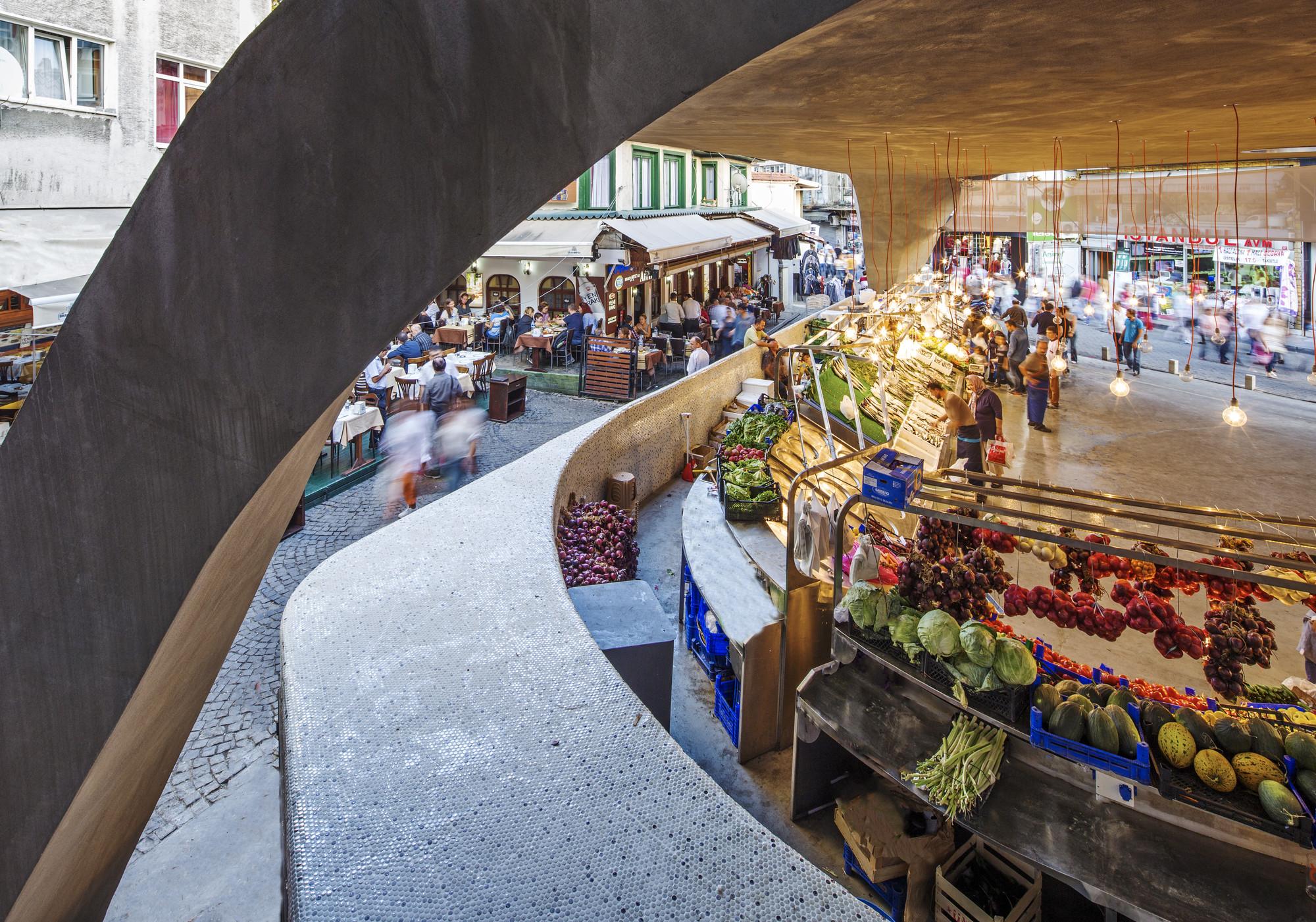 Gallery of besiktas fish market refurbishment gad 2 for Fish market hours