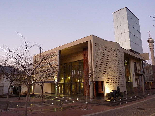 The Constitutional Court of South Africa, by Urban Solutions and OMM Design Workshop. Image © Flickr CC User fromagie