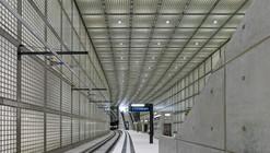 Wilhelm-leuschner-Platz station / Max Dudler