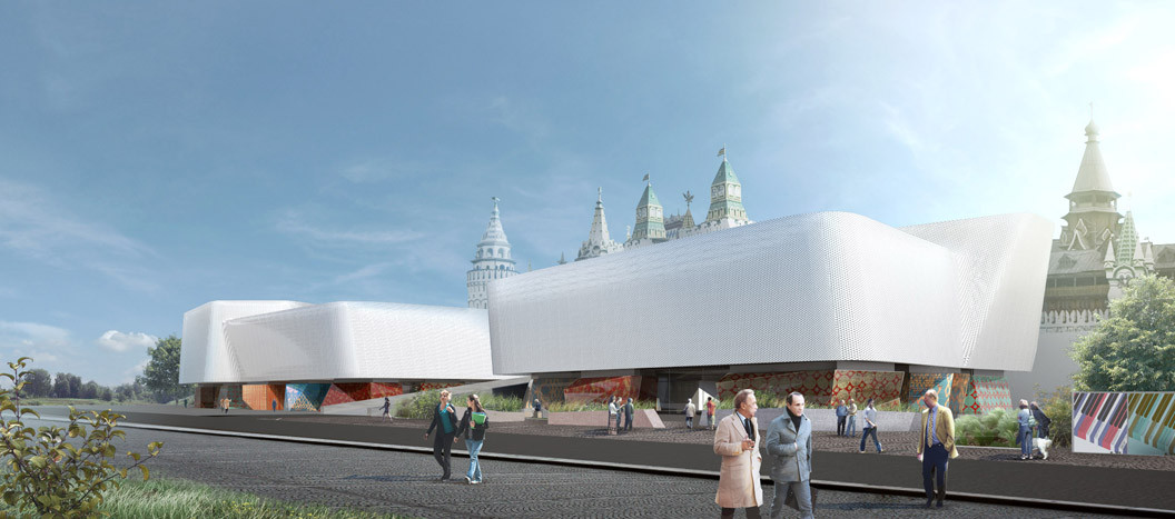 """Art Palace"" Cultural Complex Competition Entry / TOTEMENT 