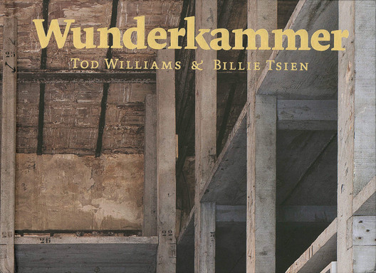 Wunderkammer / Tod Williams and Billie Tsien. Image Courtesy of Yale University Press