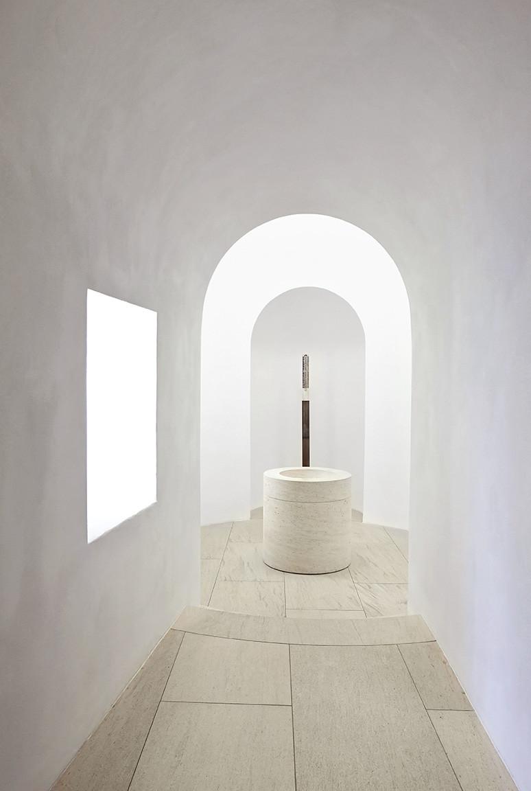 Gallery of interior remodeling of st moritz church john for John pawson lighting