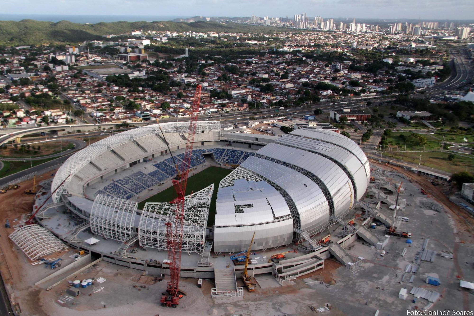 Arena Das Dunas . Image © Canindé Soares