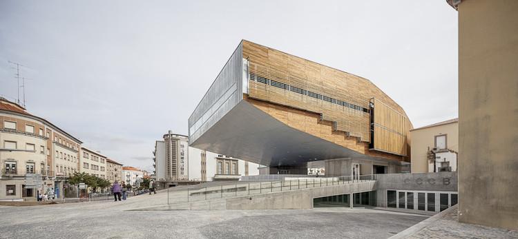 Centro Cultural en Castelo Branco / Josep Lluís Mateo, © Adrià Goula