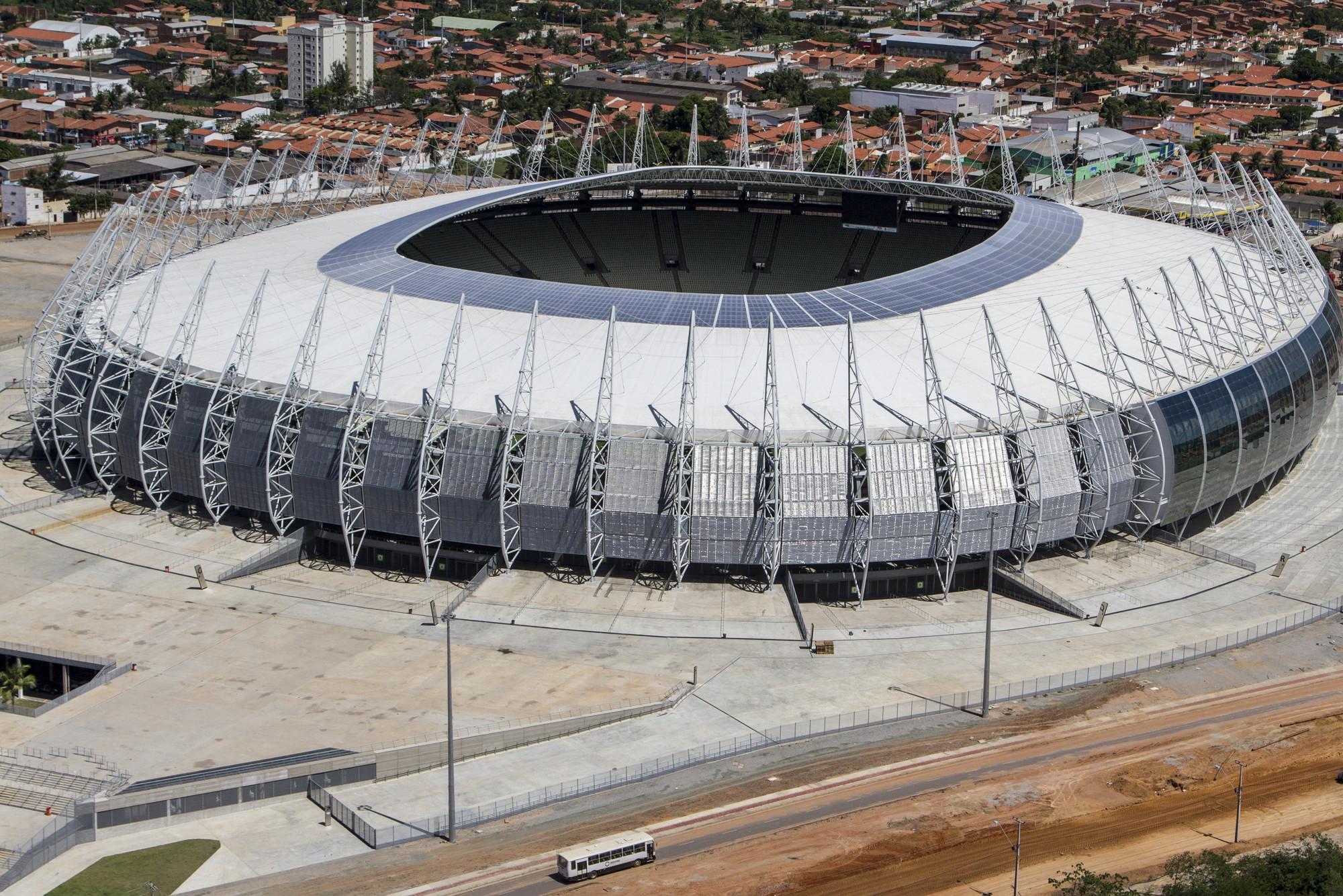 Arena Castelao . Image © Portal da Copa/ME
