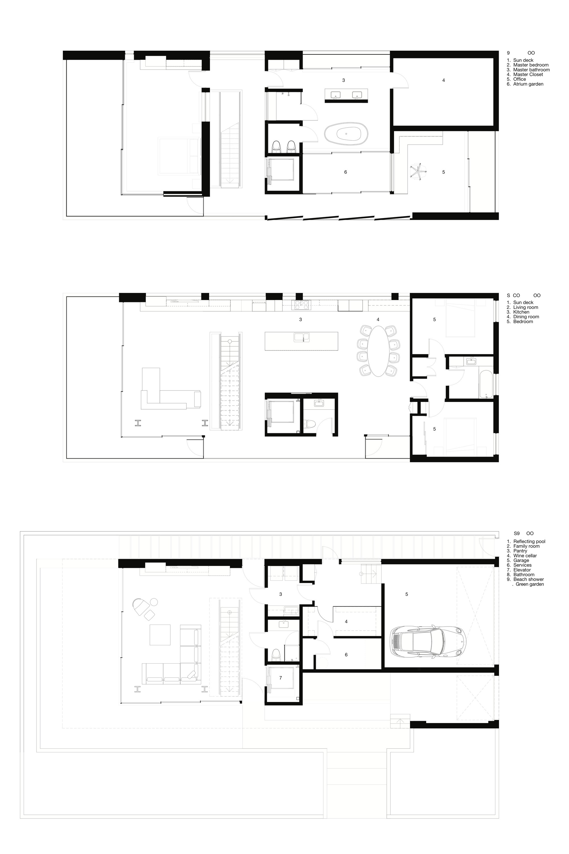 gallery of flip flop house dan brunn architecture 8 floor plan