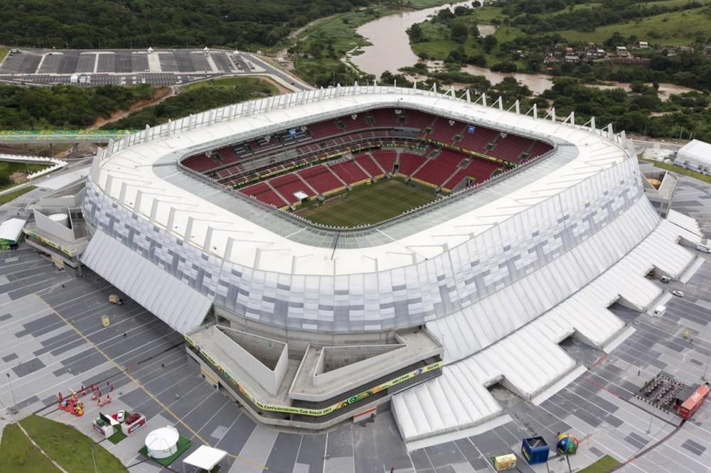Arena Pernambuco. Image © Lanik do Brasil