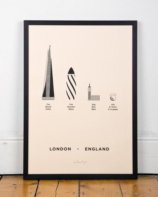 London Screen Print /me&him&you