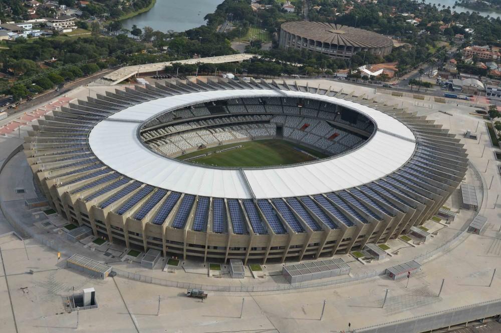 Estadio Mineirao . Image © Luan SR