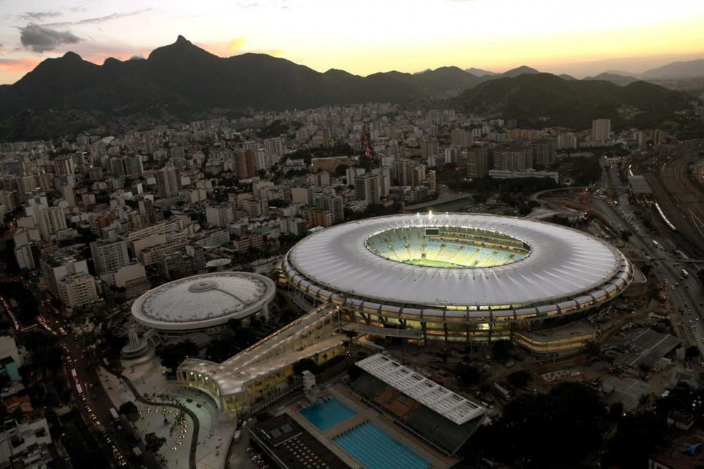 Estadio do Maracaná . Image © Erica Ramalho