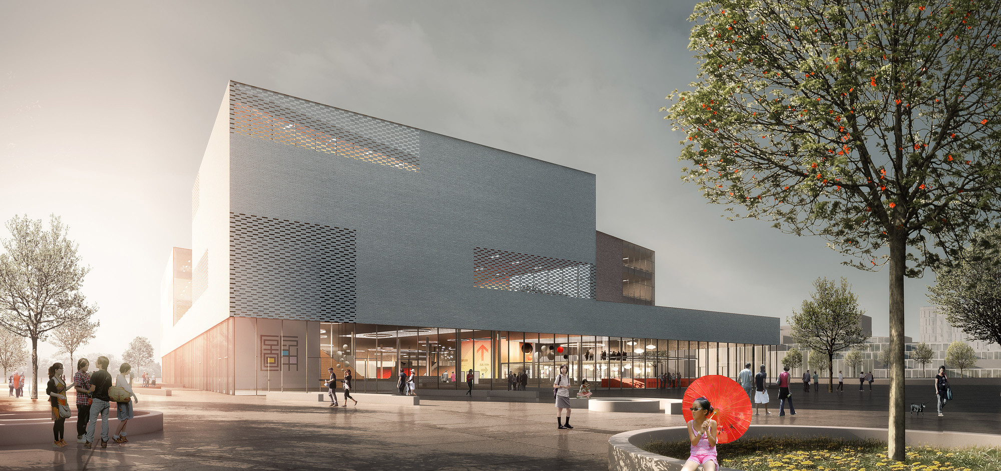schmidt hammer lassen Wins Competition to Design Ningbo's New Central Library, © schmidt hammer lassen architects