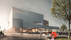 schmidt hammer lassen Wins Competition to Design Ningbo's New Central Library
