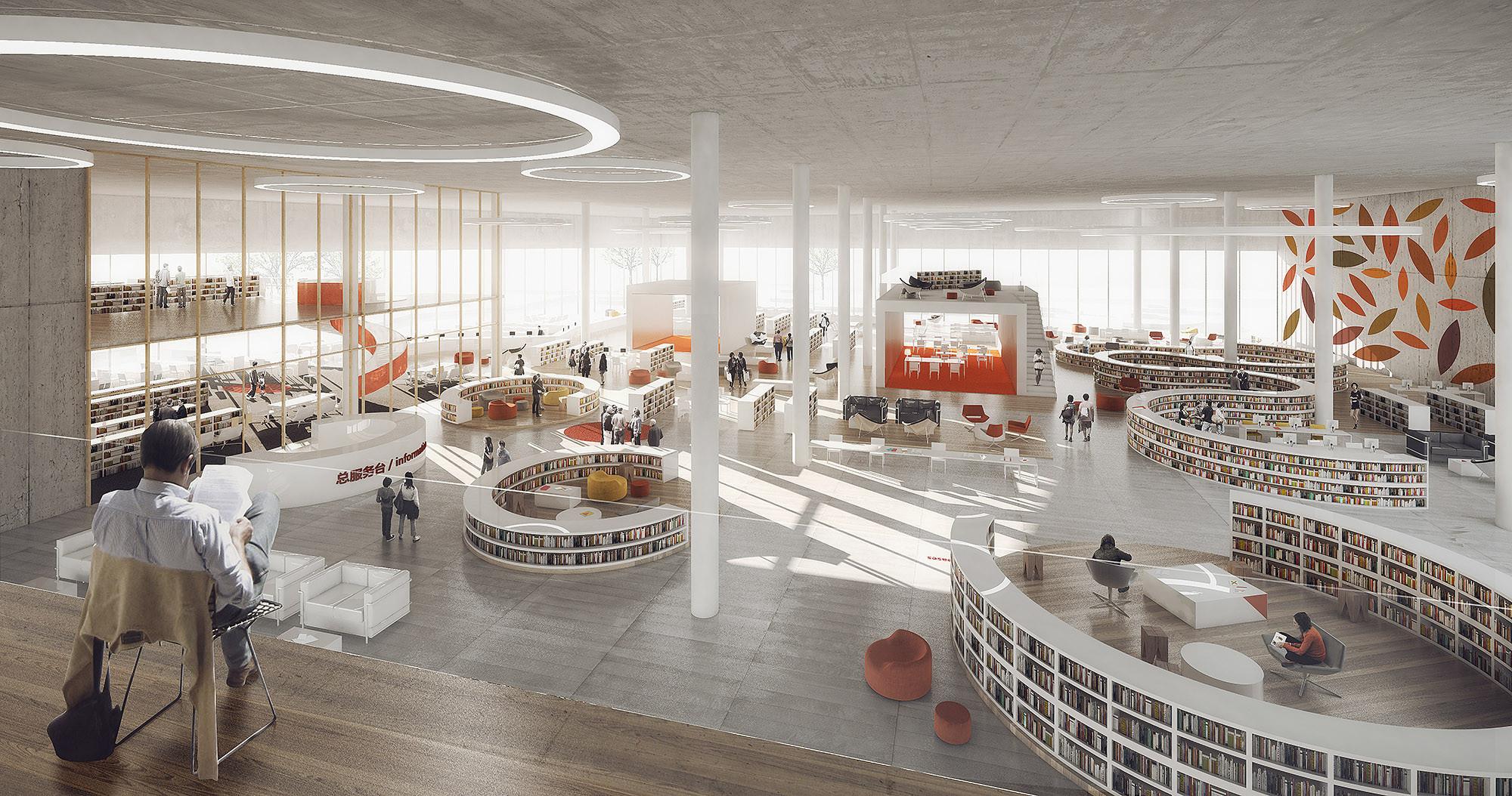 Schmidt hammer lassen wins competition to design ningbo 39 s - Architecture moderne residentielle schmidt lepper ...