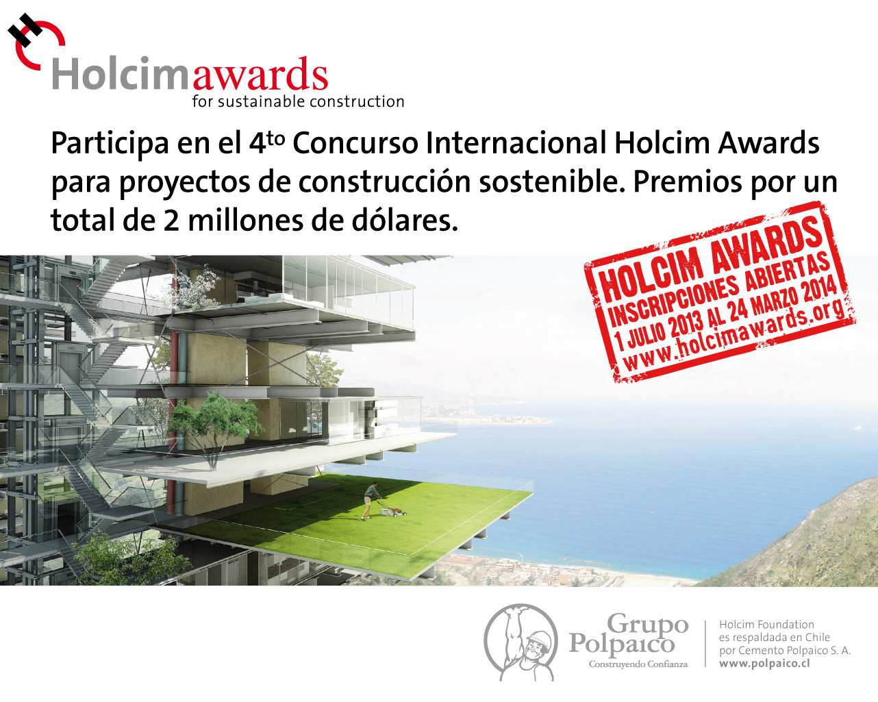 4ª Edición International Holcim Awards