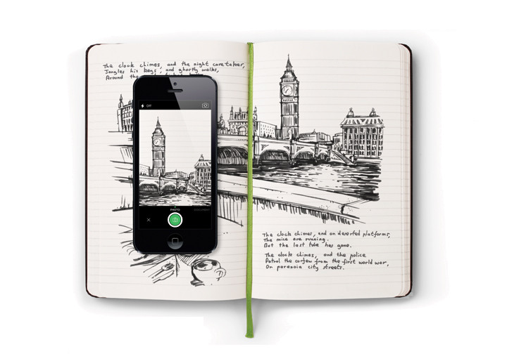 Evernote Smart Notebook / Moleskine