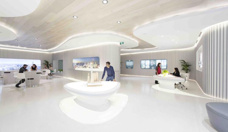 Sala de Marketing para Greenland Centre en Sydney / PTW + LAVA, © Brett Boardman