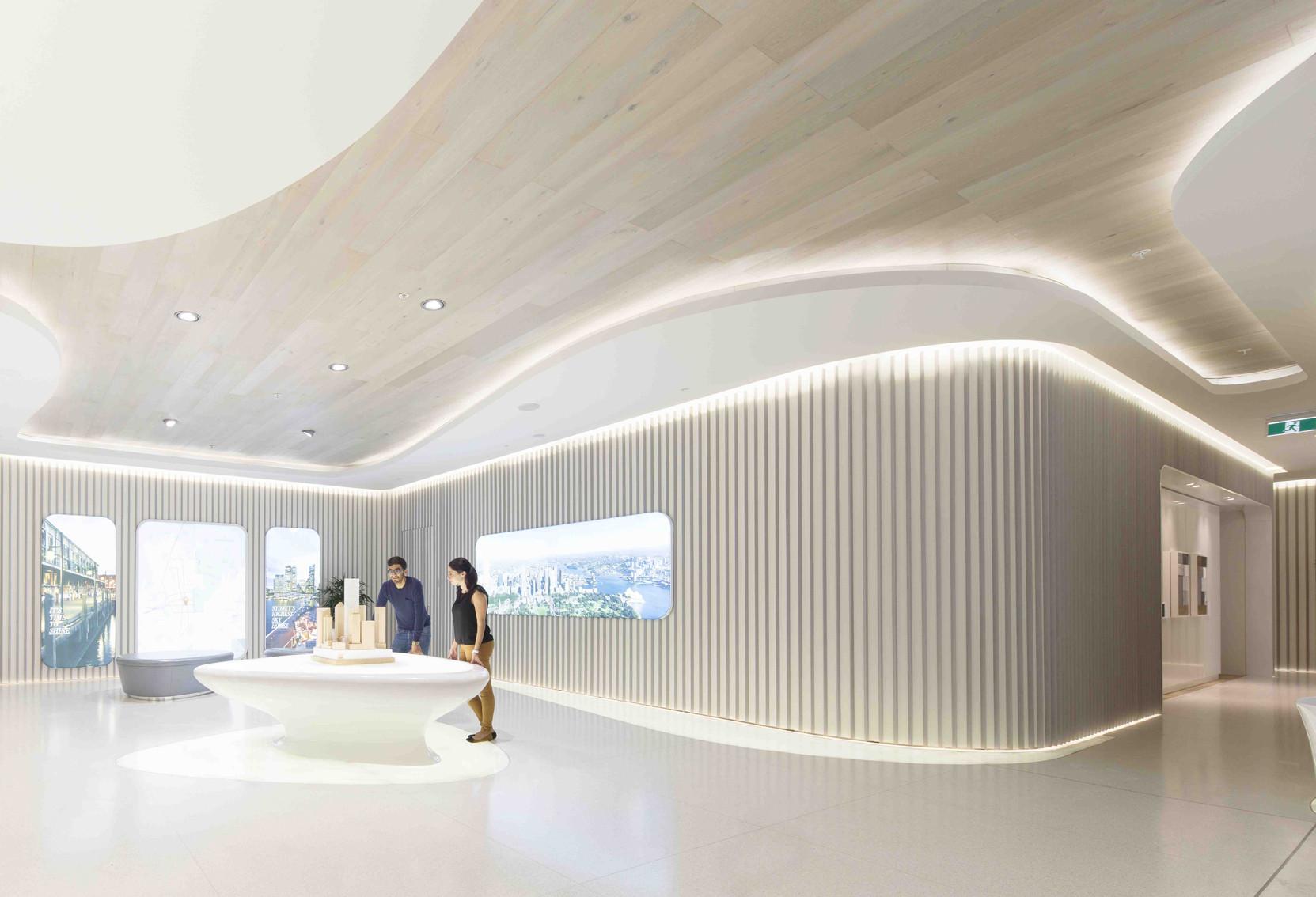 Geometrix Design Gallery Of Sydney Greenland Centre Marketing Suite Ptw