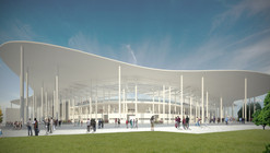 Competition Entry: Ruch Chorzów Football Stadium / Andrea Maffei Architects