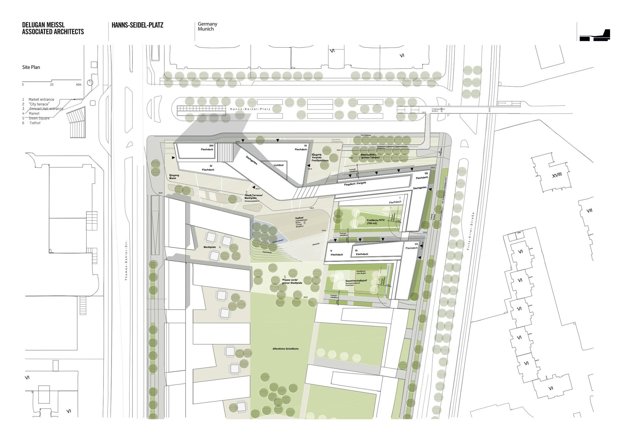 Site Plan. Image © DMAA