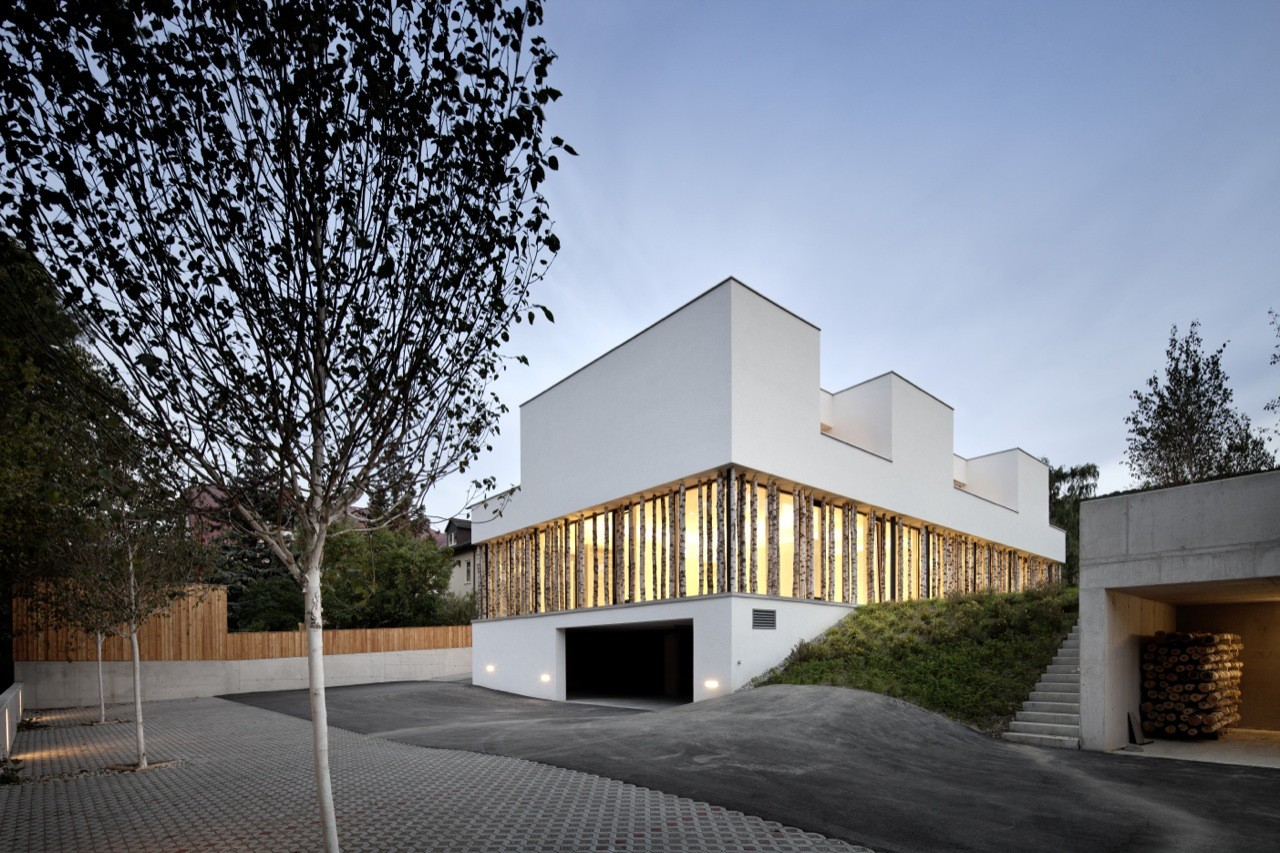 Ordination vienna woods juri troy architects archdaily for Architecture vienne