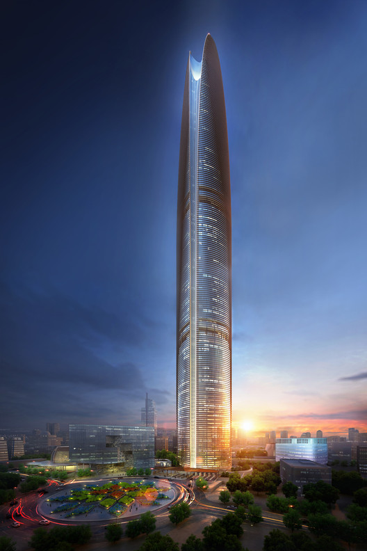 "SOM Unveils 500-Meter ""Energy Tower"" for Jakarta, © SOM"