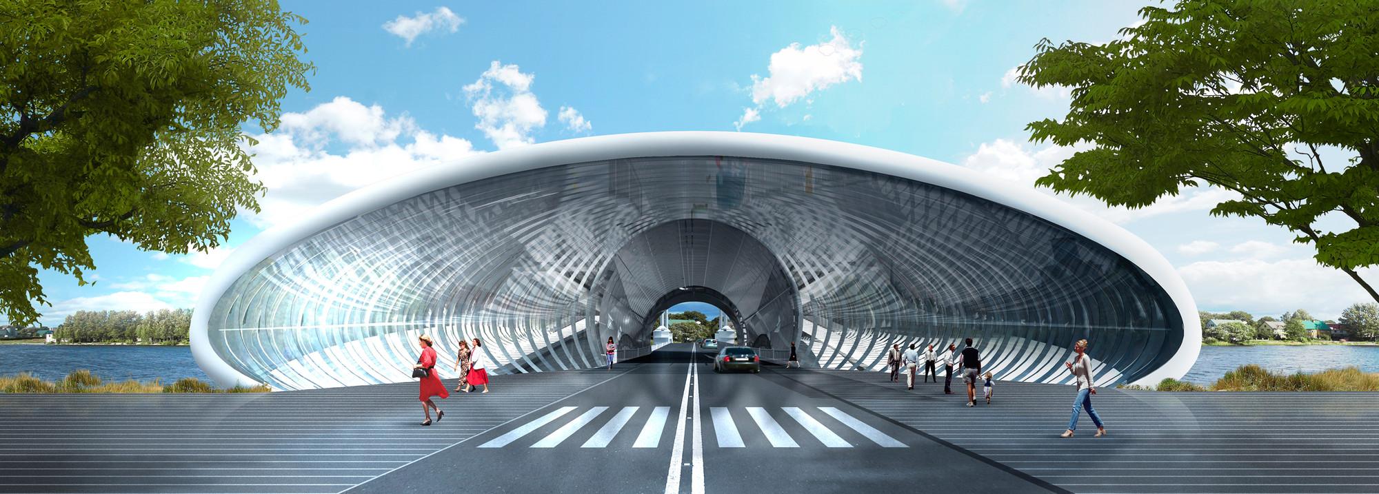Vista desde la ciudad. Image Courtesy of BAT + ACHA ZABALLA Arquitectos