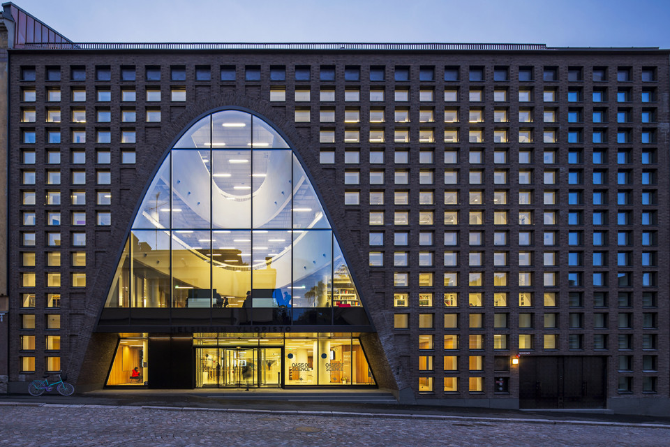 Helsinki University Main Library / Anttinen Oiva Architects, © Mika Huisman