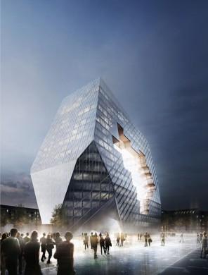 Propuesta de Büro-OS. Imagen cortesía de Büro Ole Scheeren