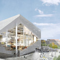 Proposal from OMA. Image Courtesy of Axel Springer SE