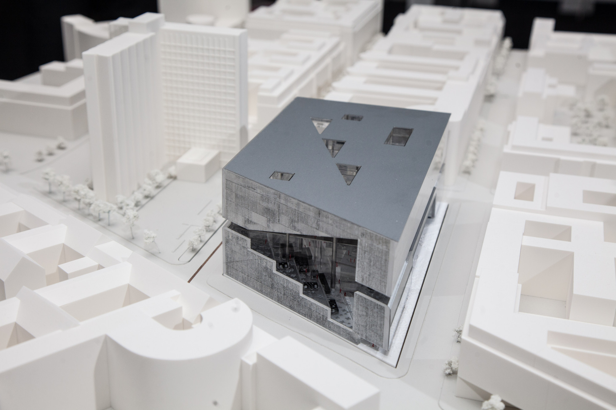 Proposal from OMA. Image © OMA