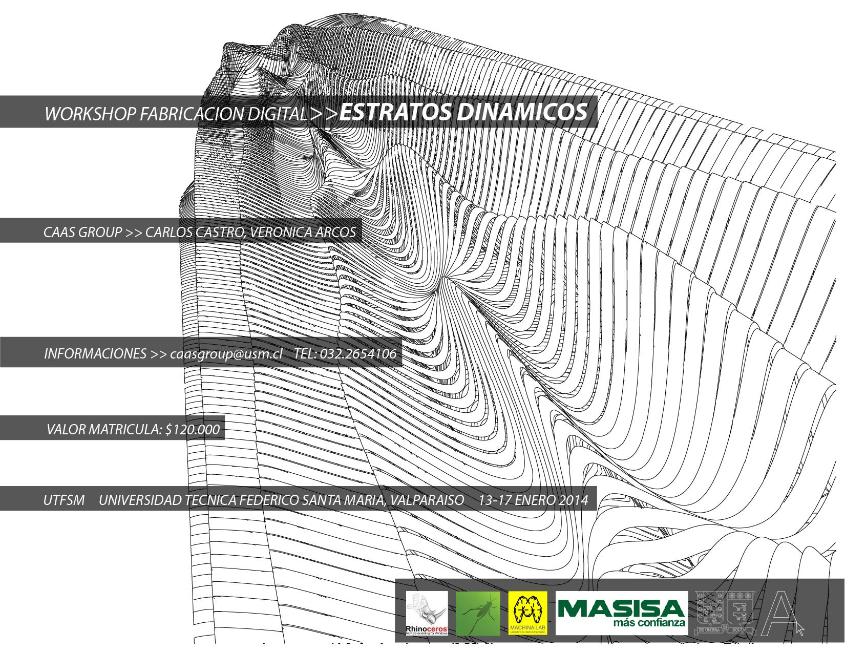 """Workshop """"Estratos Dinámicos"""" en Universidad Federico Santa María [¡Sorteamos un Cupos!]"""