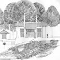Lunuganga -Drawing. Image