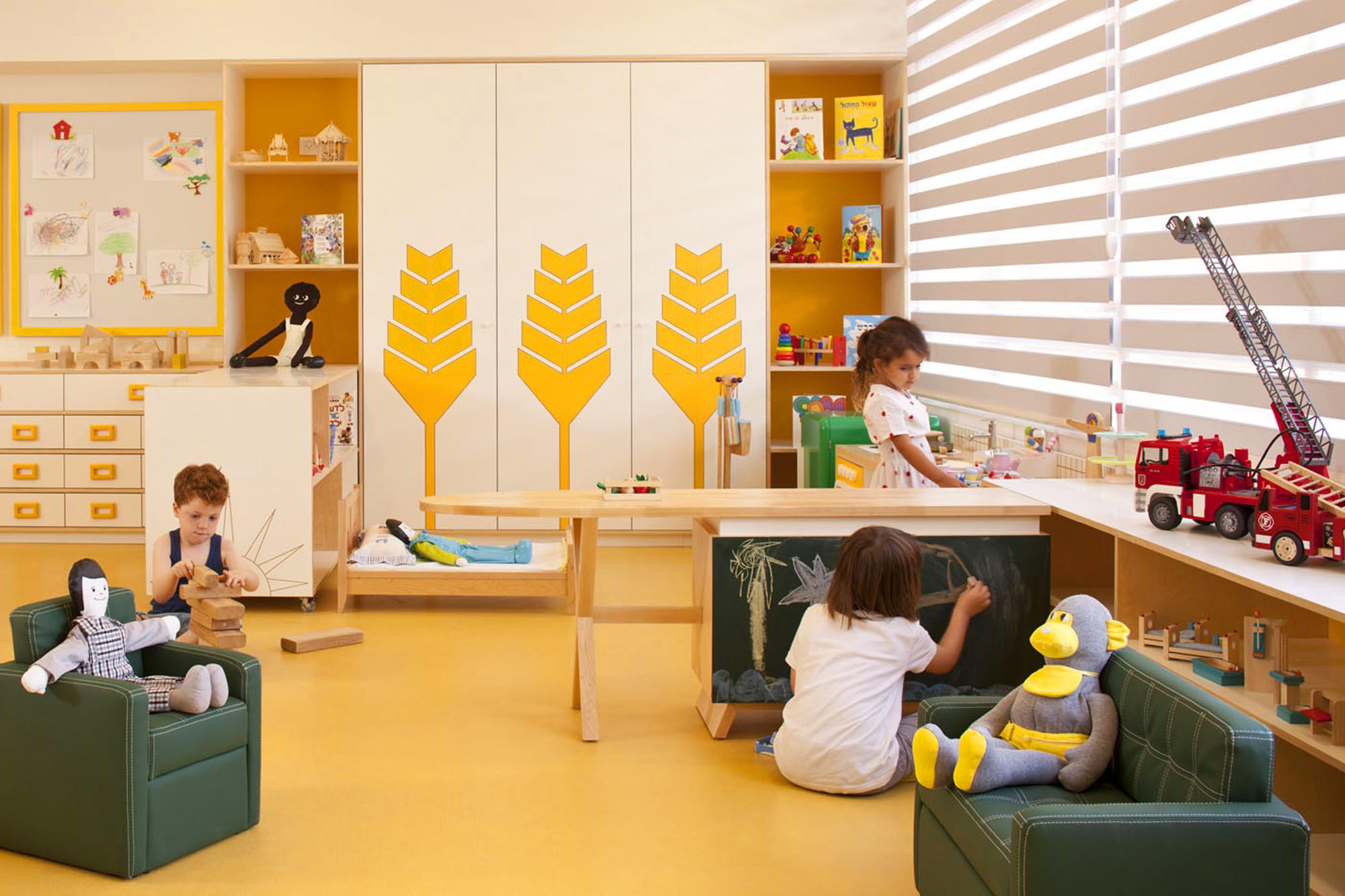 Gallery Of Kfar Shemaryahu Kindergarden Sarit Shani Hay 17