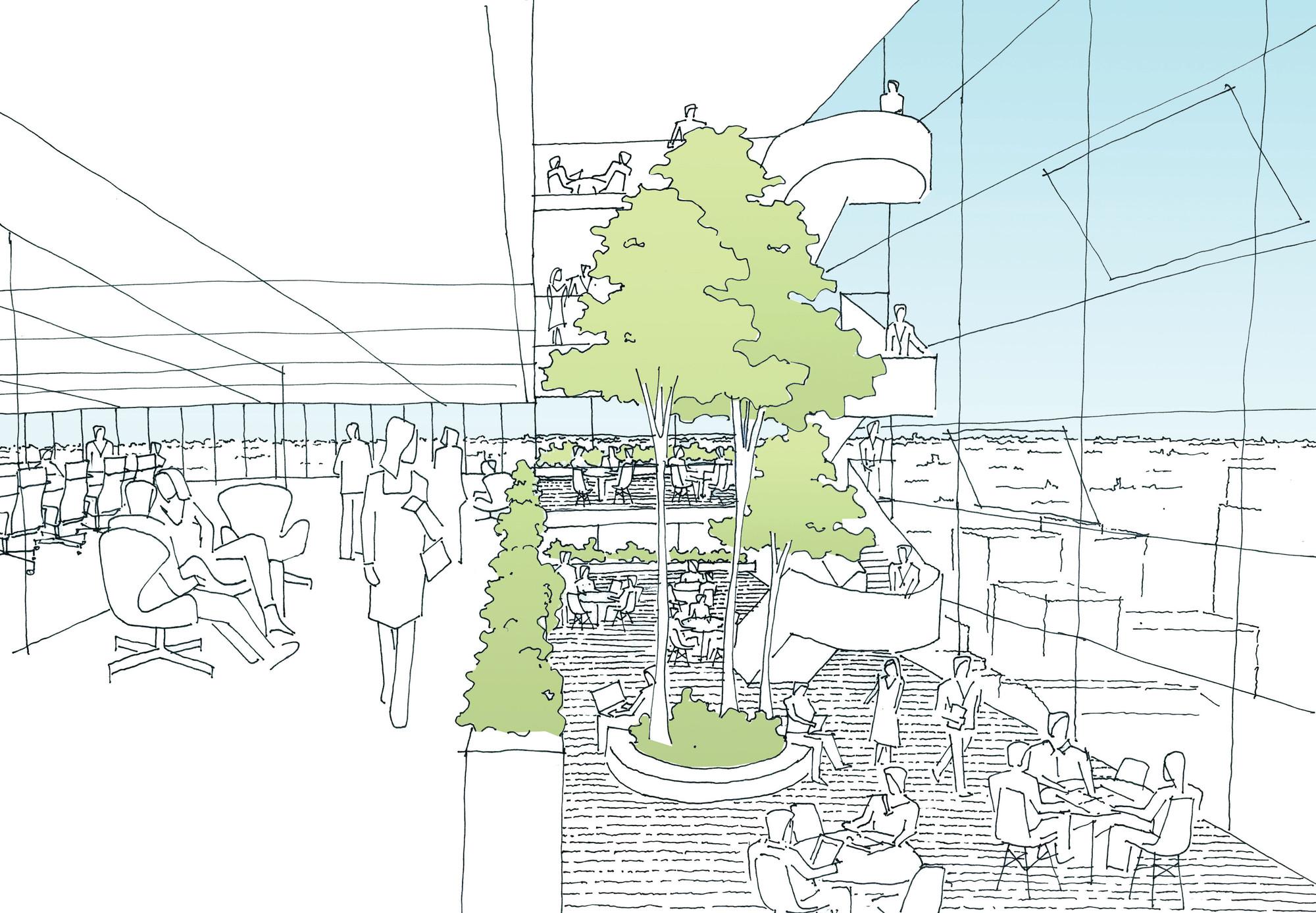 Galeria de anunciado o vencedor da competi o parramatta for 9 square matrix architecture