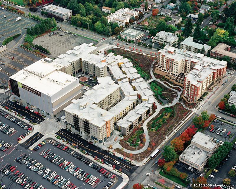 AIA Focuses on Neighborhood and Community Growth for Q3/2013, Americans are indicating that they prefer higher-density, more walkable neighborhoods. Image Courtesy of AIA
