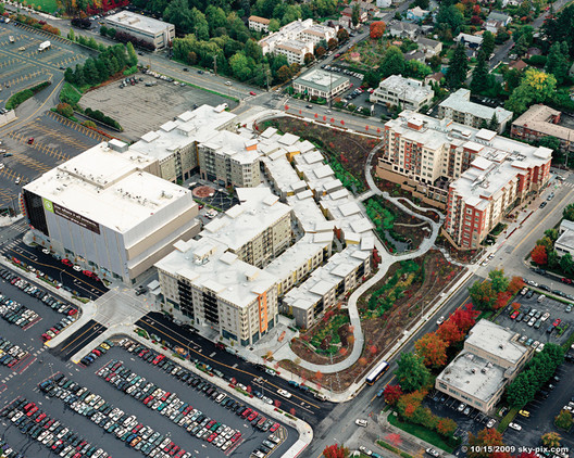 Americans are indicating that they prefer higher-density, more walkable neighborhoods. Image Courtesy of AIA