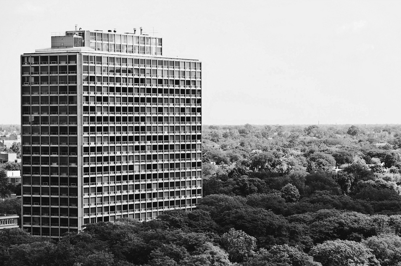 Ad classics lafayette park mies van der rohe archdaily - Mies van der rohe ...
