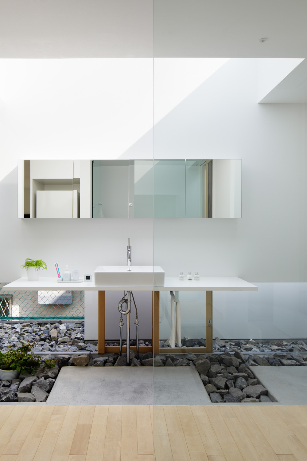 Gallery of green edge house ma style architects 5 for Interior house design green