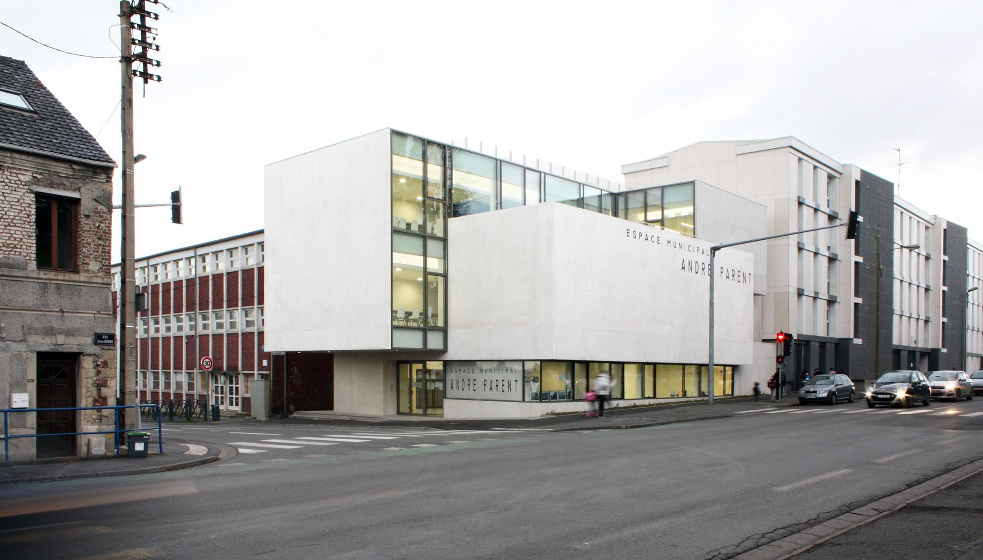 Andr parent cultural center olivier werner architecte for Parent architecte