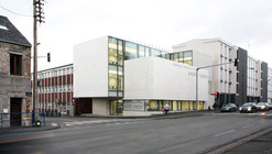 André Parent Cultural Center / Olivier Werner Architecte