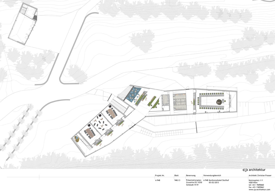 Gallery of conference and coaching center stollhof cp - Architektur plan ...