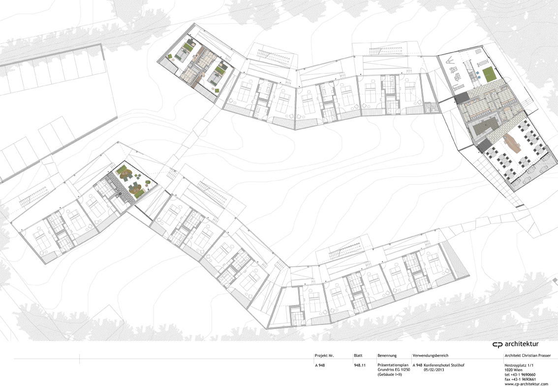 Conference and coaching center stollhof cp architektur - Architektur plan ...