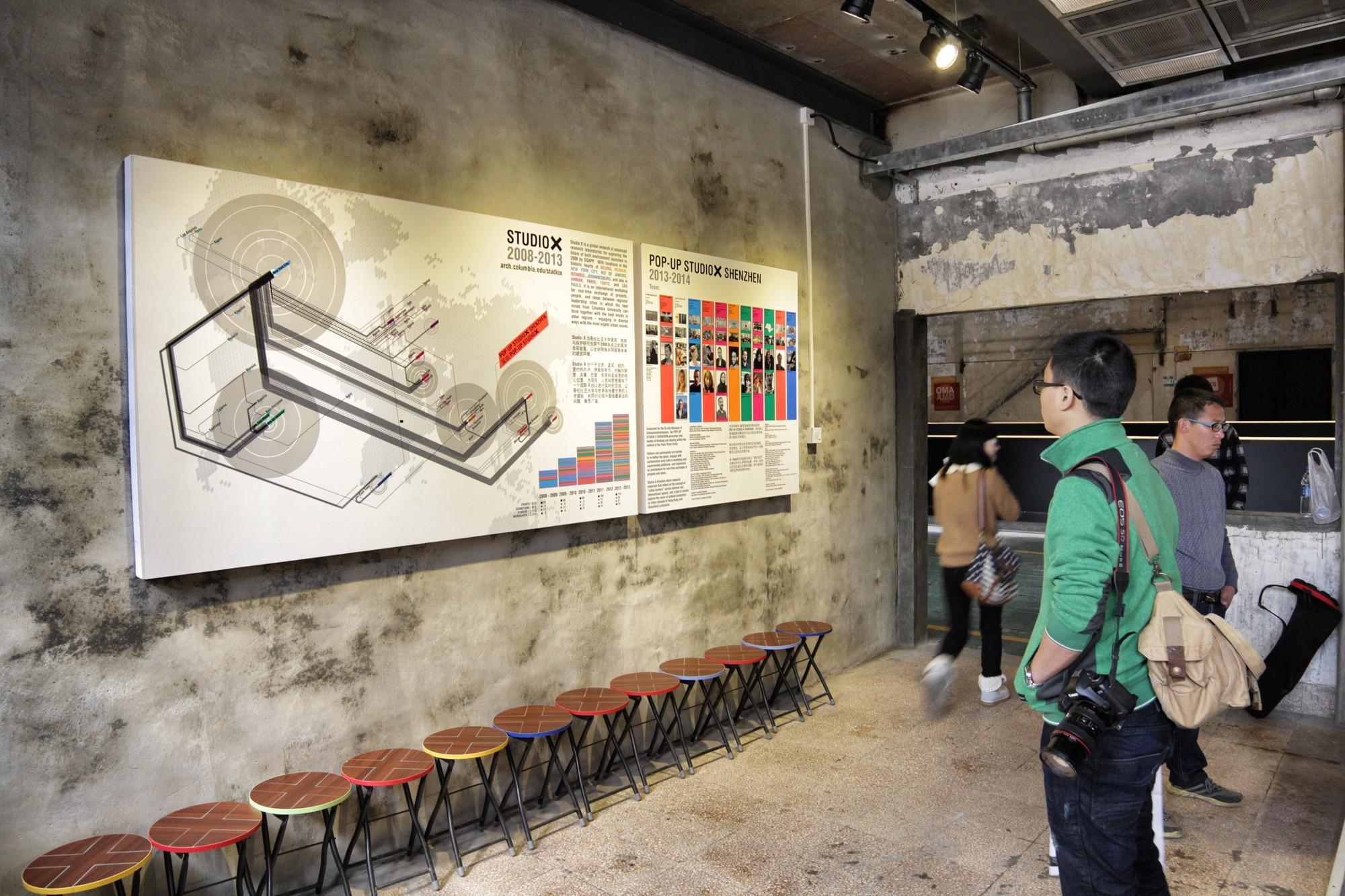 Pop Up Studio X Shenzhen © ArchDaily