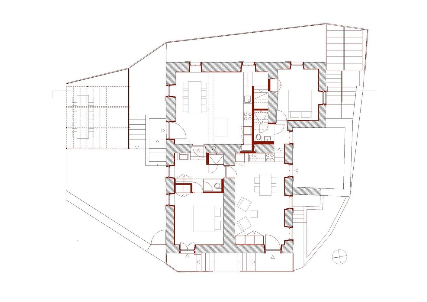Conversion of castel mirabel in olgiasca met architektur archdaily - Architektur plan ...