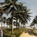 Seaside Promenade. Image Courtesy of RRC Studio