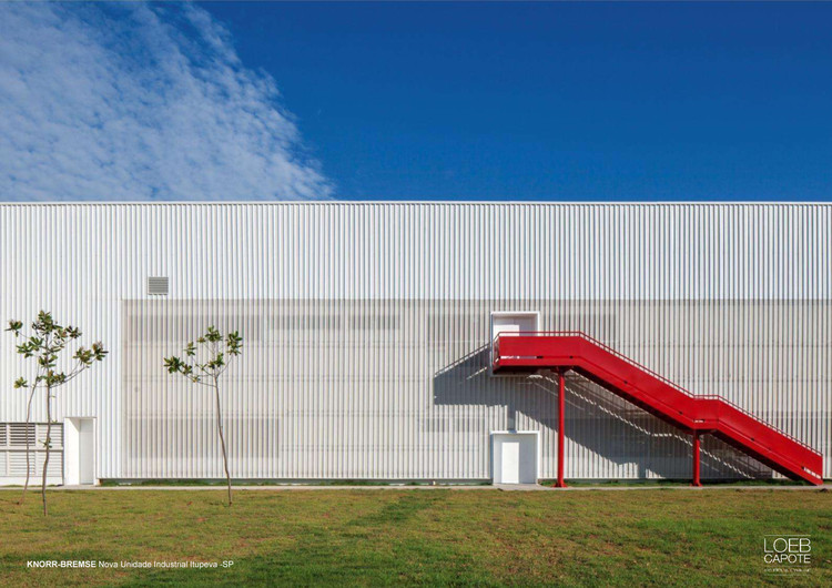 Knorr-Bremse / LoebCapote Arquitetura e Urbanismo , Cortesía de Loeb Capote Arquitetura e Urbanismo